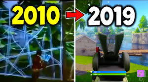 Entire HISTORY OF FORTNITE 2010 - 2019 ...