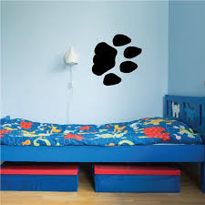 Bear Paw Track Decal 36 Inches Walmart Com