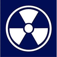 Amazon Com Radiation Radioactive Symbol Car Truck Notebook Vinyl Decal Sticker 2331 Vinyl Color White Everything Else