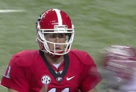 Georgia QB Aaron Murray is leveled by Alabama's Quinton Dial -