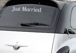 Just Married Decal Trading Phrases