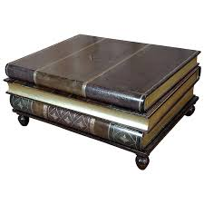 maitland smith stacked leather books