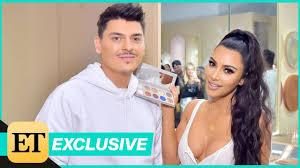 kim kardashian s makeup artist mario