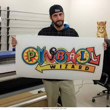 Pinball Wizard Symbols Arcade Wall Decal Wall Decal Game Room Game Room Wall Art Wall Decals