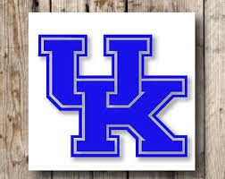 University Of Kentucky Vinyl Decal For Laptop Windows Wall Car Boat