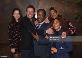 Martha West, Dominic West, Wendell Pierce, Max Peters and Penny... News  Photo - Getty Images