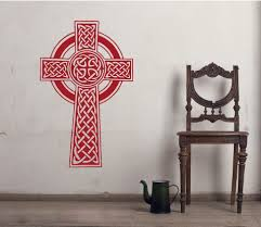 Celtic Knot Cross Wall Decals The Decal Guru