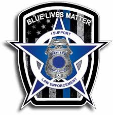 Blue Lives Matter American Flag Police Car Truck Decal Sticker Thin Blue Line Low Priced Decals Lots Of Designs