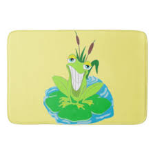 Frog For Kids Bath Mats Rugs Zazzle