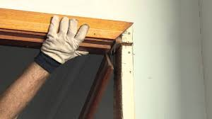 how to fix a door jamb diy at