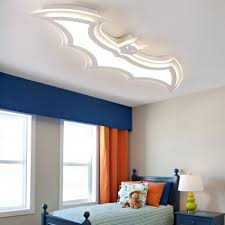 Batman Boys Bedroom Led Ceiling Lamp Ultra Thin Beautifulhalo Com