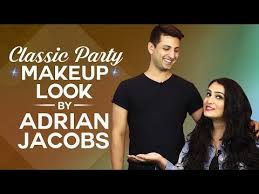 GRWM: Classic Party Makeup Look by Adrian Jacobs   How to contour    Pinkvilla   Fashion - YouTube