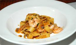 Recipe for Trenette, Shrimp, Oregano Pesto, Chef Halberg, Via Matta,  Boston, StarChefs.com