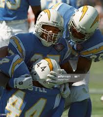 SAN DIEGO''S DUANE YOUNG, #87, AND RODNEY CULVER, #35 ...