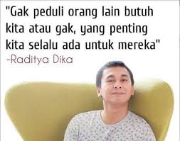 raditya dika quotes facebook