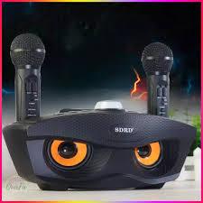 Video+ Ảnh Thật] Loa Bluetooth Karaoke Kèm 2 Mic SDRD-306 - Karaoke Mắt Cú  Siêu Hay - P327037 | Sàn thương mại điện tử của khách hàng Viettelpost