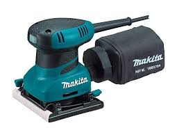 Makita Bo 4556 Ponceuse Vibrante In 2020 Makita Finishing Sander Makita Tools