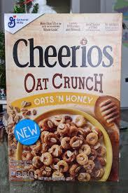 review honey n oats cheerios oat crunch