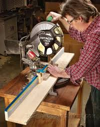 Miter Saw Fence Plans Miter Saw Tips Jigs And Fixtures Woodarchivist Com Used Woodworking Tools Fence Planning Miter Saw