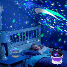 Multiple Stars Starry Sky Music Player Romantic Led Night Light Projector Kids Gifts Children Bedroom Night Lamp Wish