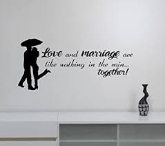 You Me Vinyl Wall Decal Sticker Lettering Quote Romantic Newly Weds Love