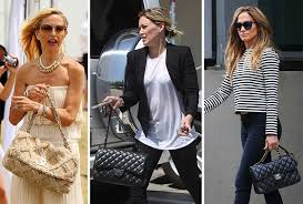 chanel bags are the reigning celebrity