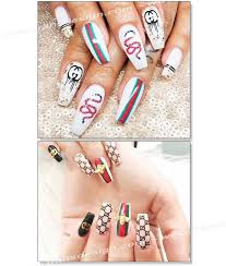 Nail Sticker Brand Name Chanel Logo Tdi Inc