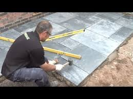 expert guide to laying patio slabs
