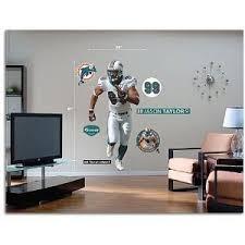 Jason Taylor Fathead Logo Wall Decal 70 X 40 Miami Dolphins 418366972