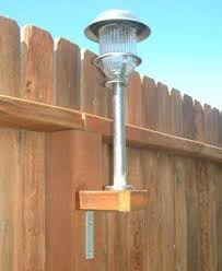Adding Lighting To A Fence Solar Lights Diy Outdoor Backyard