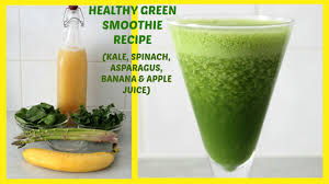 healthy green smoothie recipe for