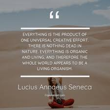 everything is the product o lucius annaeus seneca about nature