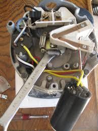 removing a pool pump motor