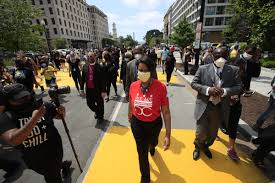 Muriel Bowser Paints 'Black Lives Matter' on D.C. Street - Curbed