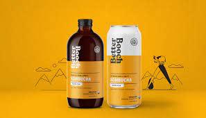Profiles in Design: Aaron Atchison | Dieline in 2020 | Kombucha, Kombucha  brands, Farm design