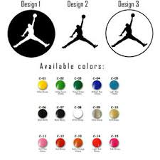 Vinyl Decal Sticker Michael Jordan Mj Nba Jumpman Car Window Air Basketball Logo Ebay