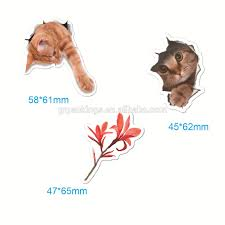 Removable Waterproof 3d Cute Cat Wall Stickers Car Decal Buy Wall Stickers 3d Decal Product On Alibaba Com