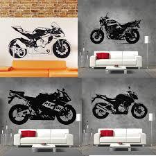 29 Designs Yamaha Motorbike Wall Decal Honda Motorcycle Vinyl Sticker Aprilia Motor Racing Poster Bmw Ktm Extreme Sport Mural Decoration Murale Removable Wall Decalsbedroom Decor Aliexpress