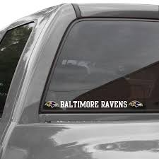 Baltimore Ravens 2 X 19 Letters Die Cut Decal