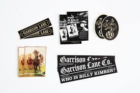 Garrison Lane Signature Vinyl Decals