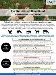 nutritional benefits of pasture raised
