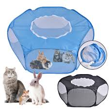 Folding Small Pet Game Fence Outdoor Indoor Exercise Crawling Pet Tent Shopee Philippines