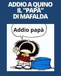 Avvenire - == Fumetti: muore a 88 anni Quino, il papà di...   Facebook