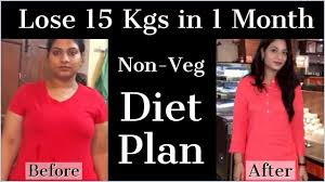 how to lose weight fast 15kg in 1 month