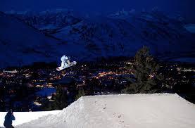 jackson hole night skiing snow king