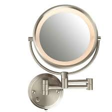 conair wall mount makeup mirror wall