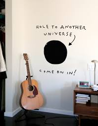 Hole To Another Universe Wall Sticker Blik Wall Graphic