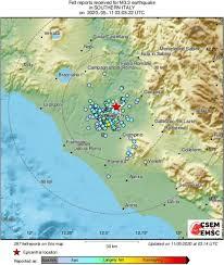 Forte scossa di Terremoto a Roma oggi 11 Maggio durante la notte