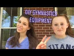 diy gymnastics equipment you