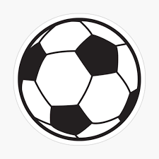 Soccer Ball Sticker Poster By Roccoyou Redbubble